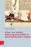 Scham - zur sozialen Bedeutung eines Gefühls im spätmittelalterlichen England (eBook, PDF)
