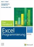 Microsoft Excel Programmierung - Das Handbuch. Automatisierung mit VBA - Für Excel 2007 - 2013. Vollständig überarbeitet (eBook, PDF)