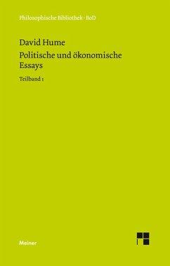 Politische und ökonomische Essays (eBook, PDF) - Hume, David