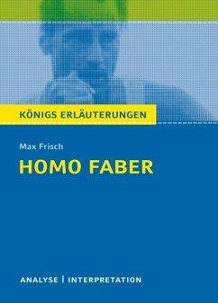 Homo faber. Königs Erläuterungen. (eBook, ePUB) - Matzkowski, Bernd; Frisch, Max