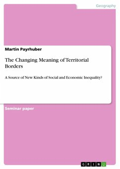 The Changing Meaning of Territorial Borders (eBook, ePUB)