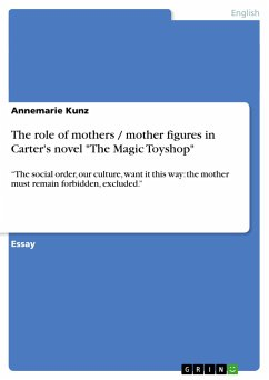 The role of mothers / mother figures in Carter's novel