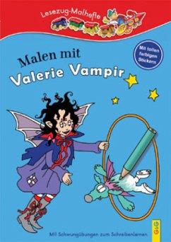 Malen mit Valerie Vampir