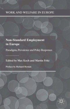 Non-Standard Employment in Europe (eBook, PDF)