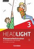 English G Headlight 3: 7. Schuljahr. Klassenarbeitstrainer mit Lösungen und Audio-Materialien