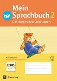 Mein Sprachbuch 2. Jahrgangsstufe. Arbeitsheft A in Vereinfachter Ausgangsschrift. Ausgabe Bayern