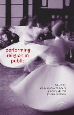 Performing Religion in Public (eBook, PDF)