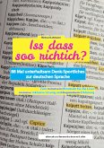 Iss dass soo richtich? (eBook, ePUB)