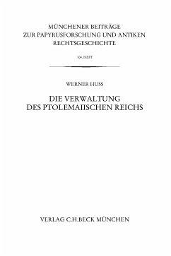 Münchener Beiträge zur Papyrusforschung Heft 104 (eBook, PDF) - Huß, Werner