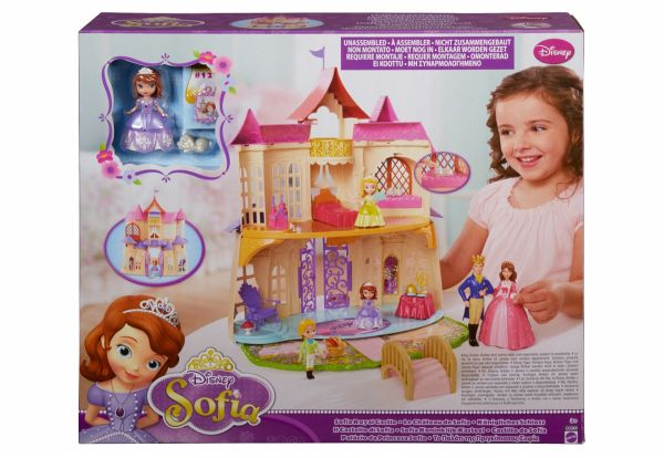mattel disney princess sofia die erste magisches sprechendes schloss. Black Bedroom Furniture Sets. Home Design Ideas