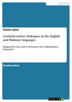Gotthard Arthus. Dialogues in the English and Malaiane languages