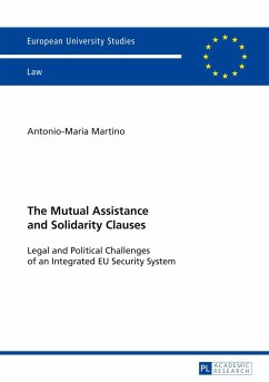 The Mutual Assistance and Solidarity Clauses - Martino, Antonio-Maria