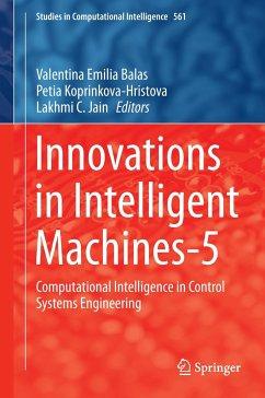 Innovations in Intelligent Machines-5