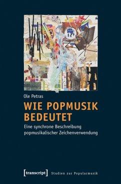 Wie Popmusik bedeutet (eBook, PDF) - Petras, Ole