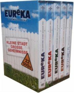 EUReKA - Gesamtbox DVD-Box - Colin Ferguson,Salli Richardson,Jordan Hinson