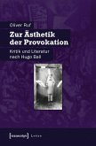 Zur Ästhetik der Provokation (eBook, PDF)