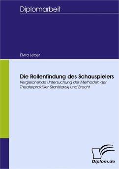 Die Rollenfindung des Schauspielers (eBook, PDF) - Leder, Elvira