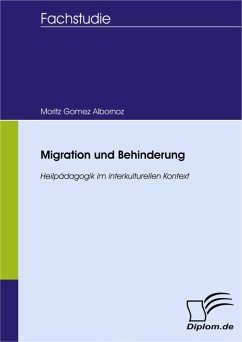 Migration und Behinderung (eBook, PDF) - Gómez Albornoz, Moritz