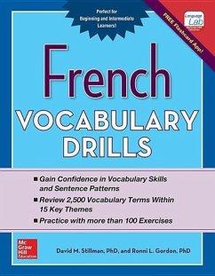 French Vocabulary Drills - Gordon, Ronni; Stillman, David