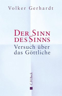 Der Sinn des Sinns - Gerhardt, Volker