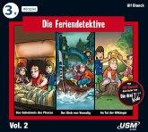 Die Feriendetektive 3-er Hörbox 2, 3 Audio-CDs