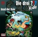 Insel der Haie / Die drei Fragezeichen-Kids Bd.41 (Audio-CD)