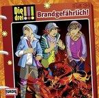 Brandgefährlich / Die drei Ausrufezeichen Bd.34 (1 Audio-CD)
