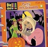 Party des Grauens / Die drei Ausrufezeichen Bd.32 (Audio-CD)