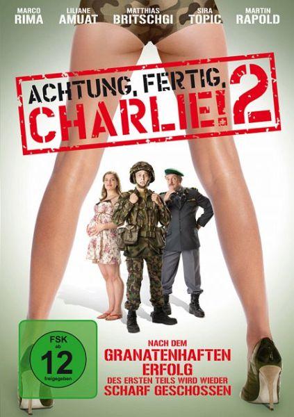 achtung fertig charlie 2 film auf dvd b. Black Bedroom Furniture Sets. Home Design Ideas