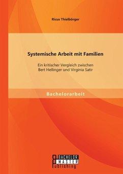 Systemische Arbeit mit Familien: Ein kritischer Vergleich zwischen Bert Hellinger und Virginia Satir - Thielbörger, Ricus