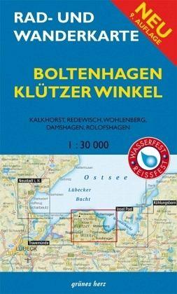 Ostseebad Boltenhagen Karte.Rad Und Wanderkarte Boltenhagen Klützer Winkel