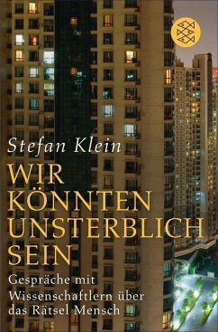 »Wir könnten unsterblich sein« (eBook, ePUB) - Klein, Stefan