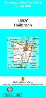 Topographische Karte Baden-Württemberg, Zivilmilitärische Ausgabe - Heilbronn / Topographische Karten Baden-Württemberg, Zivilmilitärische Ausgabe
