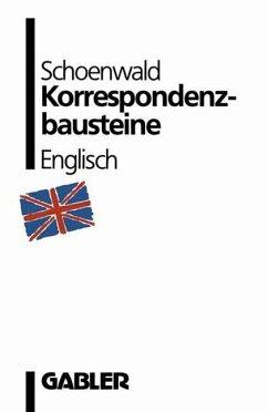 Korrespondenzbausteine Englisch