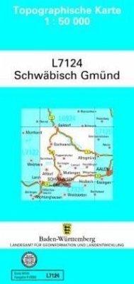 Topographische Karte Baden-Württemberg, Zivilmi...