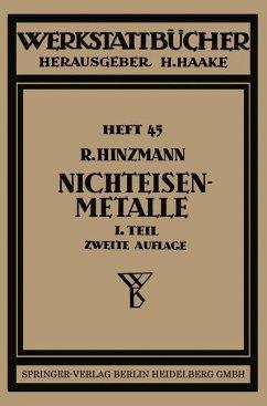 Nichteisenmetalle - Hinzmann, Reinhold