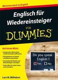 Englisch Fur Wiedereinsteiger Fur Dummies Von Lars M Blohdorn Schulbucher Portofrei Bei Bucher De