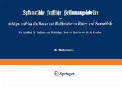 Systematische forstliche Bestimmungstabellen der wichtigen deutschen Waldbäume und Waldsträucher im Winter- und Sommerkleide