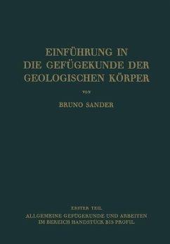 Einführung in die Gefügekunde der Geologischen Körper