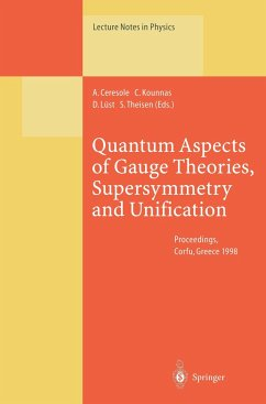 Quantum Aspects of Gauge Theories, Supersymmetry and Unification