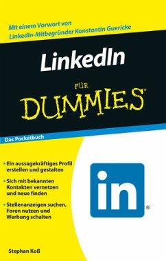 LinkedIn für Dummies - Koß, Stephan