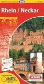 ADFC-Radtourenkarte Rhein / Neckar