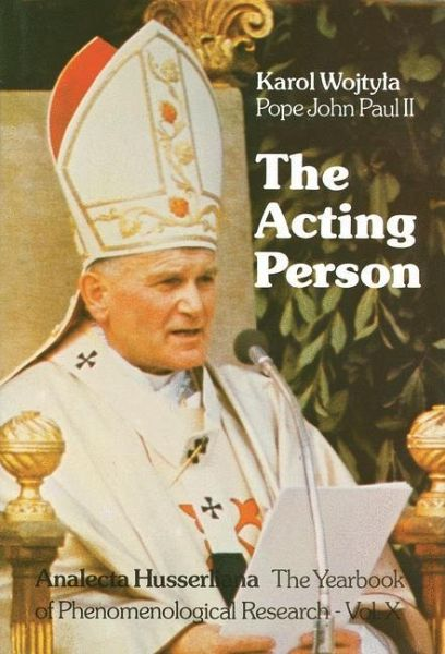 ACTING WOJTYLA KAROL PDF THE PERSON