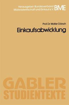 Einkaufsabwicklung - Dörsch, Walter