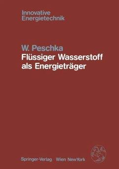 Flüssiger Wasserstoff als Energieträger
