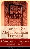 Dschami: Aus dem Diwan (Orientalische Liebeslyrik) - zwölfteilige deutsche Ausgabe (eBook, ePUB)
