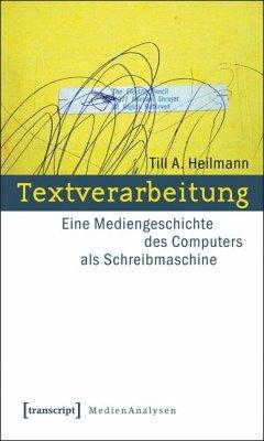 Textverarbeitung (eBook, PDF) - Heilmann, Till A.