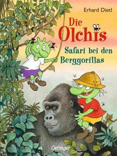 Safari bei den Berggorillas / Die Olchis-Kinderroman Bd.8 - Dietl, Erhard