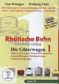RHÄTISCHE BAHN, Die Güterwagen. Tl.1, DVD-ROM