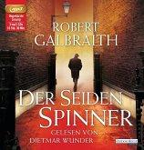 Der Seidenspinner / Cormoran Strike Bd.2 (3 MP3-CDs)